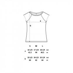 Women Unique Fractal T-Shirt Black