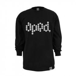 Men Classic Crossed T-Shirt Black