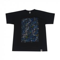 Men Classic Stamp T-Shirt Burgundy